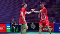 Praveen/Melati dan Ruselli Lolos ke Babak Kedua Hong Kong Open
