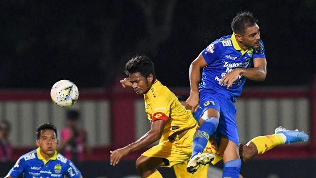 Persib Kesulitan Hadapi Formasi Pohon Natal Bhayangkara FC