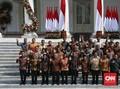Daftar Lengkap Menteri Kabinet Indonesia Maju Jokowi