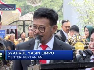 Syahrul Yasin Limpo Targetkan Pertanian RI Maju & Mandiri