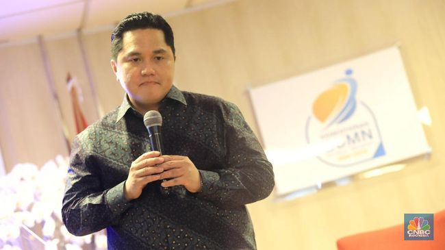 MDIA Erick Thohir Mundur dari Bos MDIA, Harga Saham Turun 14%