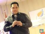 Erick Thohir Mundur dari Bos MDIA, Harga Saham Turun 14%