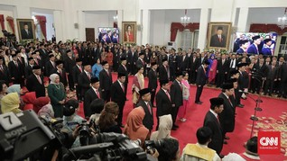 Menteri-menteri Ekonomi Jokowi Tunggu Hasil Tes Virus Corona