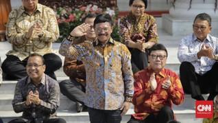 Salah Sebut Komisi I DPR, Menteri Johnny Plate 'Ditegur'