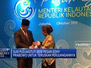 Serahkan Jabatan, Ini Pesan Susi Pudjiastuti ke Edhy Prabowo