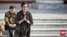 IHSG Sempat Lesu Siang Hari, Sri Mulyani Salahkan Global