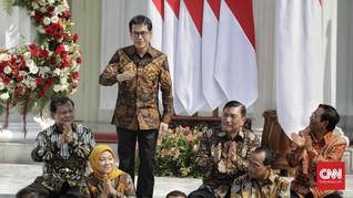 Sebelum Dilantik, Jokowi Titip Pesan Penting ke Wishnutama
