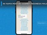 Ini Deretan Menteri Kabinet Indonesia Maju Jokowi-Ma'ruf