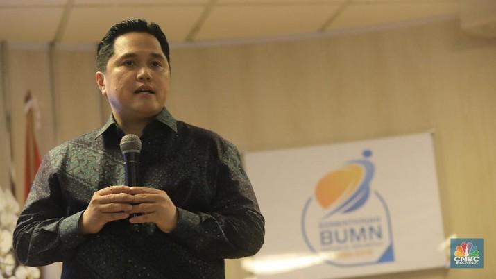 Menteri BUMN Erick Thohir buka suara soal banyaknya direksi BUMN yang juga menjabat komisaris.