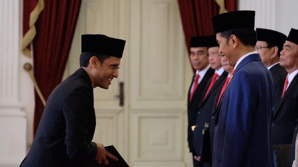 Cuitan Kocak Nadiem Jadi Mendikbud, Bayar SPP Pakai Gopay