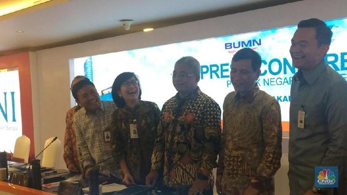 PT Bank Negara Indonesia Tbk (BBNI) mengumumkan kinerja keuangan di kuartal III-2019.
