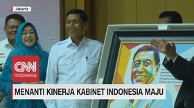 VIDEEO: Wiranto Hadiri Sertijab di Kemenkopolhukam