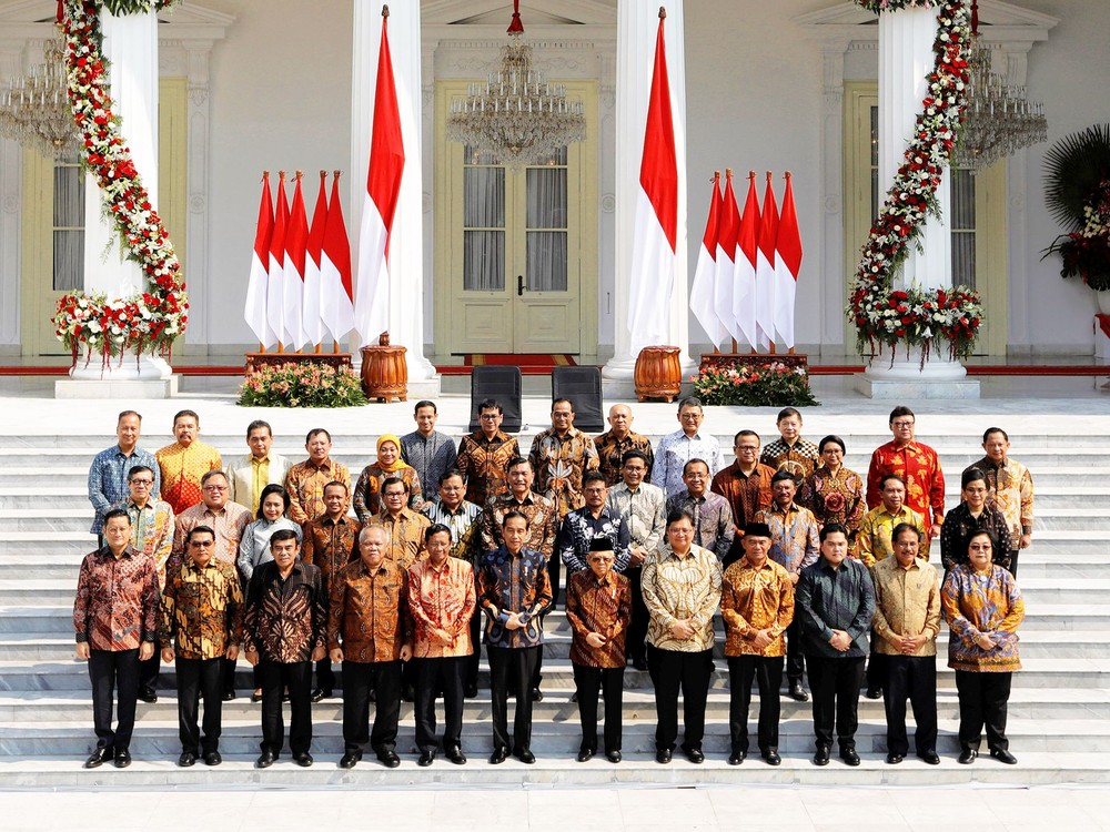 Kabinet Baru Indonesia Maju Jokowi-Ma'ruf 2019-2024