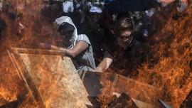 FOTO: Unjuk Rasa Bikin Chile Membara