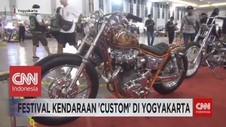 VIDEO: Custom Builder Saling Pamer Di Ajang Modifikasi