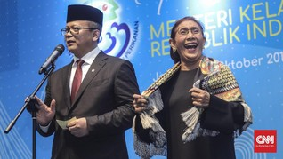 BPN Kritik Susi, Edhy Prabowo Akan Tetap Tenggelamkan Kapal