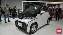 Mobil Listrik 'Mungil' Toyota Disebut Cocok untuk Lansia