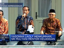 Jokowi Umumkan Susunan Kabinet Indonesia Maju 2019 - 2024