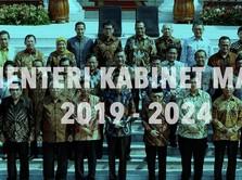 Catat, Ini Daftar Lengkap Kabinet Indonesia Maju 2019-2024