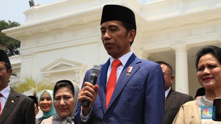 Presiden Joko Widodo (Jokowi) mengatakan Indonesia negara besar dan harus bersyukur mampu menjaga pertumbuhan ekonomi