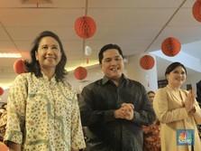 Dua Jalur Erick Thohir Hingga Mulus ke Kursi Menteri BUMN