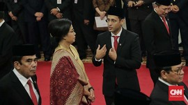 Sri Mulyani 'Sodorkan' Nadiem Jadi Contoh Kebijakan Jokowi