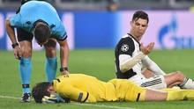 Ronaldo Tendang Kiper dan Hampir Buat Juventus Gagal Menang