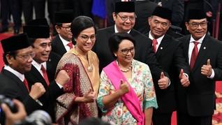 Sri Mulyani Singgung Belanja Negara ke Menteri Muda Jokowi