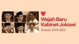 INFOGRAFIS: Wajah Baru di Kabinet Jokowi