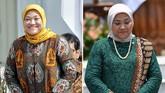 Sementara Menteri Ketenagakerjaan Ida Fauziyah diketahui telah lama duduk sebagai anggota DPR RI dari Partai Kebangkitan Bangsa (PKB). Dia juga merupakan pendiri Ketua Kaukus Perempuan Parlemen dan pernah menjabat sebagai Ketua Umum Pengurus Pusat Fatayat NU. (CNN Indonesia/Adhi Wicaksono/ANTARA FOTO/Wahyu Putro A)