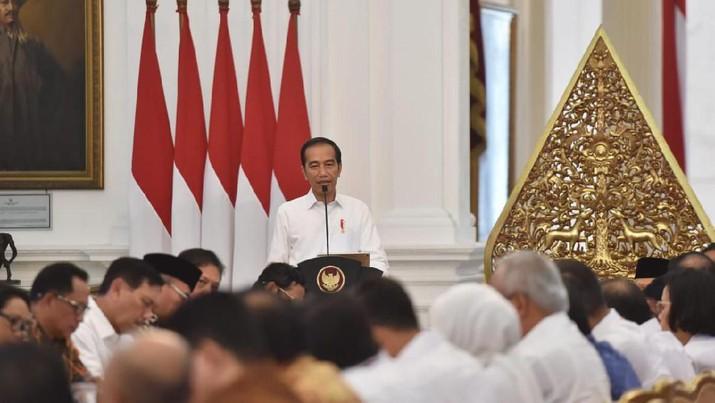 Jokowi Pimpin Rapat Sidang Kabinet RI, Kabinet Indonesia Maju (Rusman - Biro Pers Sekretariat Presiden )