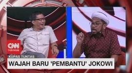 VIDEO: Ngabalin vs Rocky Gerung Soal Kabinet Baru Jokowi