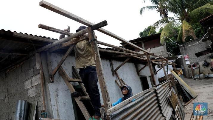 Dari pantauan CNBC Indonesia tanah ini merupakan tanah pemerintah yang nantinya akan digunakan untuk pelebaran kali