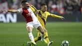 Slavia Praha sempat menyamakan kedudukan menjadi 1-1 berkat gol Jan Boril di menit ke-50. (AP Photo/Petr David Josek)
