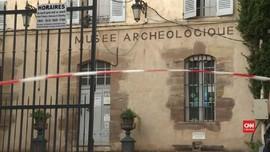 VIDEO: Pria Misterius Bobol Museum Arkeologi Prancis