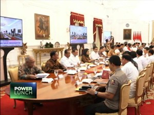 Amanat Jokowi di Sidang Kabinet Pertama
