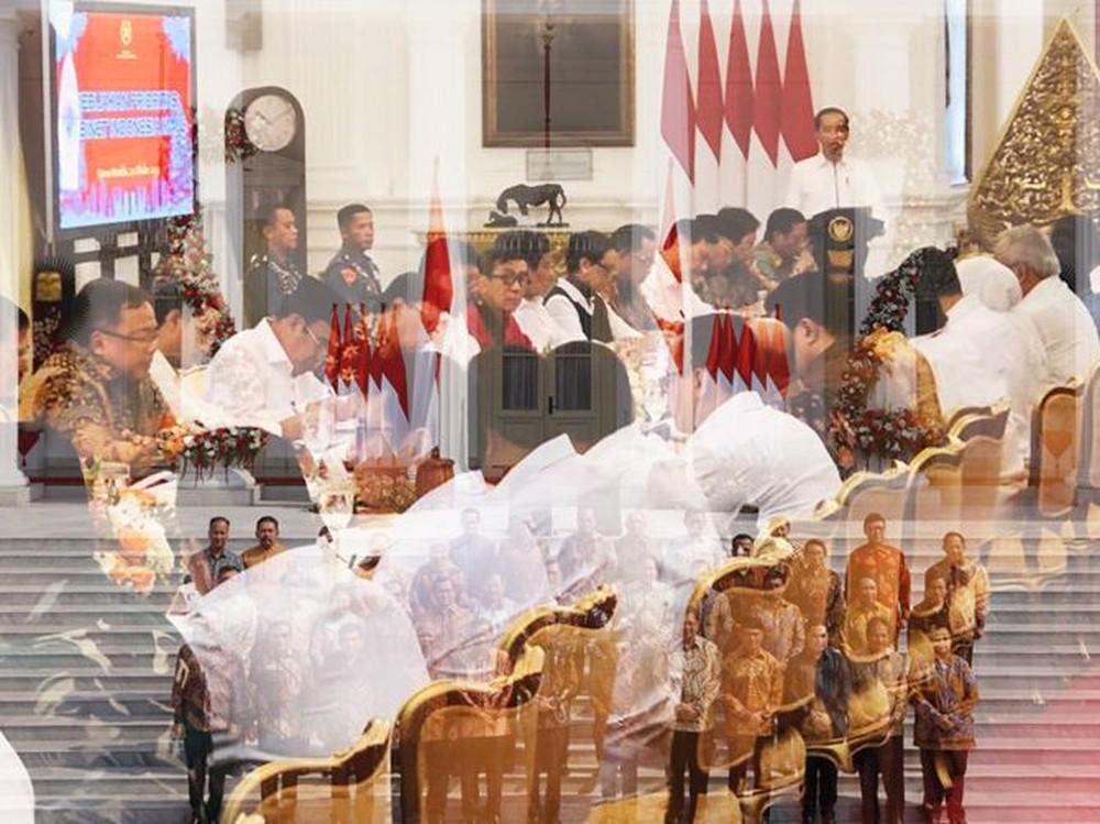 Sidang Perdana Menteri Kabinet Indonesia Maju