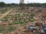 Makam di TPU Tanah Kusir Malah Jadi Tempat Pembuangan Sampah