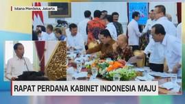 VIDEO: Rapat Perdana Kabinet Indonesia Maju