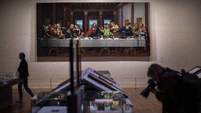 Sejuta Orang Datang ke Louvre Demi Leonardo da Vinci