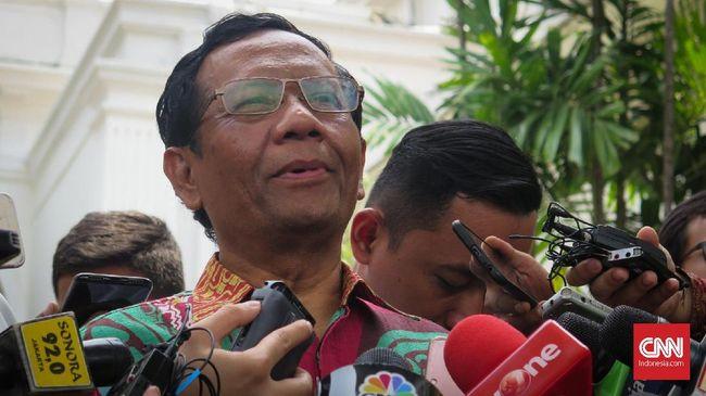 Mahfud MD: Menko Punya Hak Veto Batalkan Kebijakan Menteri