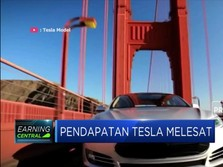Pendapatan Melesat, Saham Tesla Naik 20%