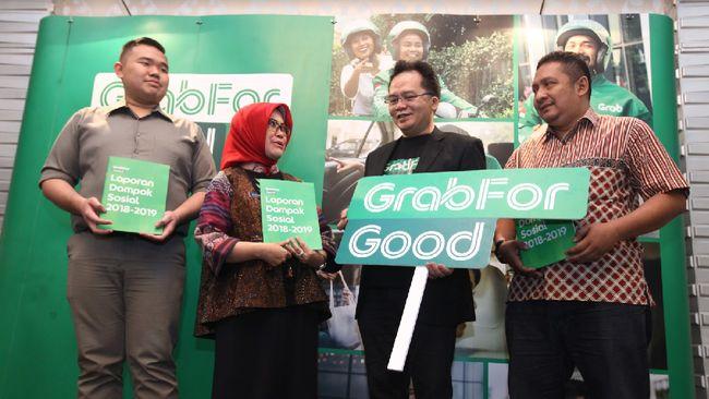 Grab Sumbang Ekonomi Rp10,1 Triliun di Kota Bandung