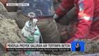 VIDEO: Pekerja Proyek Saluran Air tertimpa Beton