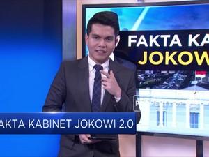 Ini Fakta Kabinet Jokowi 2.0