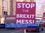 Kisruh Brexit, Parlemen Inggris Minta Perpanjangan Waktu