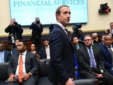 Mark Zuckerberg Disidang Kongres AS atas Mata Uang Libra