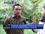 Keren! Garuda Siapkan 100 Drone Untuk Bisnis Logistik