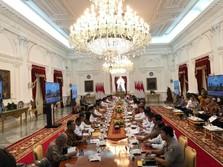 Jokowi ke Nadiem-Prabowo Cs: Kerja Kita, Kerja Tim!