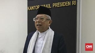 Ma'ruf Amin Pastikan Pemekaran Daerah Hanya Berlaku di Papua